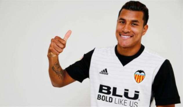 Jeison Murillo, defensor del Valencia CF