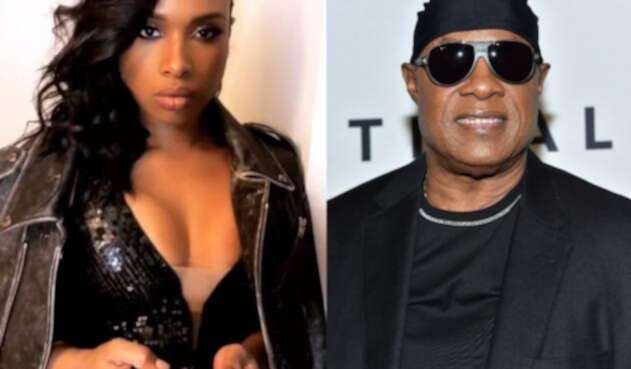 Stevie Wonder y Jennifer Hudson