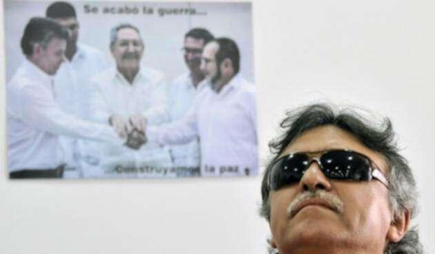 Jesús Santrich, ex jefe de las Farc, detenido por continuar con actividades de narcotráfico