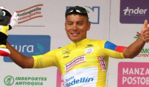 Jonathan Caicedo, ciclista ecuatoriano