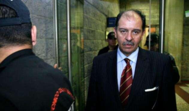 José Miguel Narváez, ex subdirector del DAS
