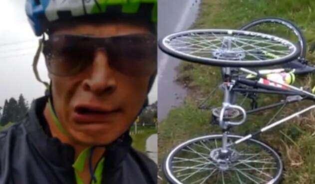 Juan Betancour, ciclista paralímpico colombiano