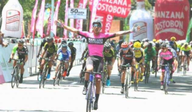 Sebastián Molano pertenece al Manzana Postobón Team
