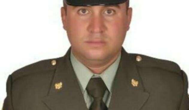 Juan David Londoño Carmona, subintendente de la Policía de Carreteras asesinado en Antioquia