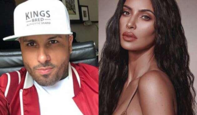 Kim Kardashian y Nicky Jam
