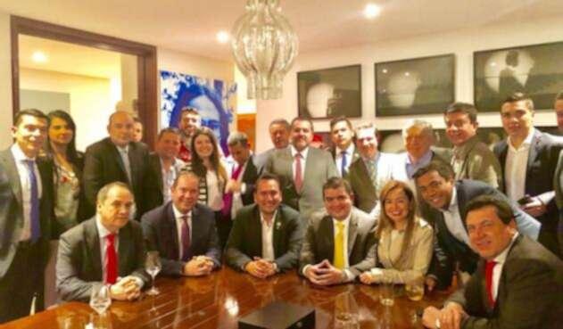Bancada Liberal con Felipe Córdoba, candidato Contraloría