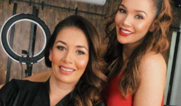 Lina Tejeiro y su mamá, Vibiana Tejeiro