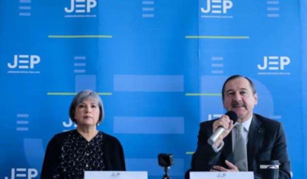 Magistrados de la JEP