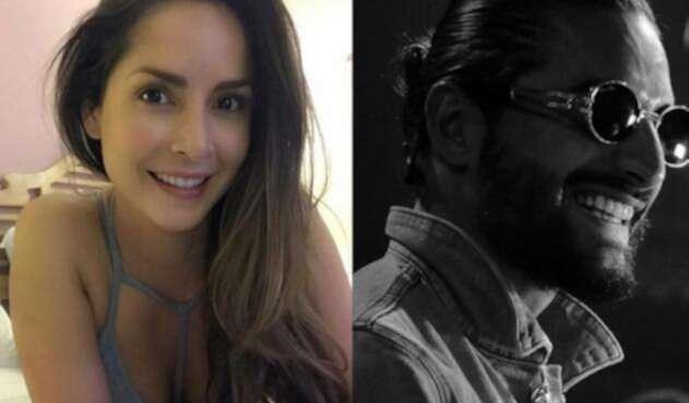 Carmen Villalobos y Maluma