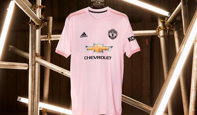 La camiseta rosa de Manchester United 2018-2019