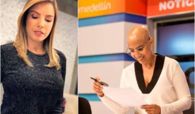 Manuela Estévez, presentadora, antes y después de asumir su esclerodermia
