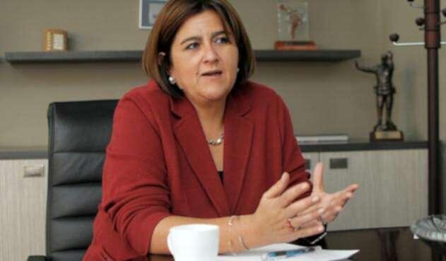 María Lorena Gutiérrez, ministra saliente de Comercio