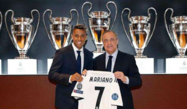 Mariano Díaz es presentado como refuerzo del Real Madrid
