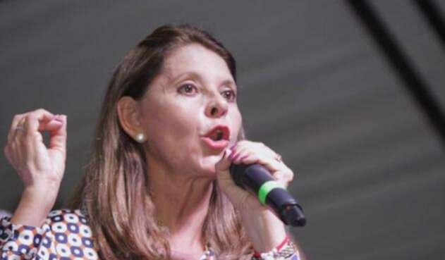 Marta Lucía Ramírez, vicepresidentade la República.