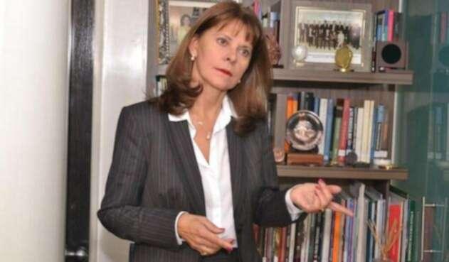 Vicepresidenta Martha Lucía Ramírez