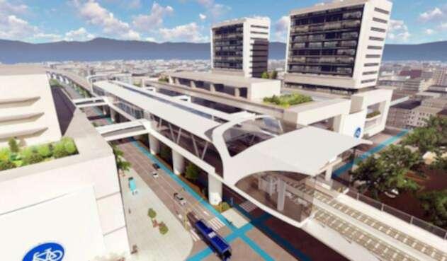 El metro de Bogotá en planos