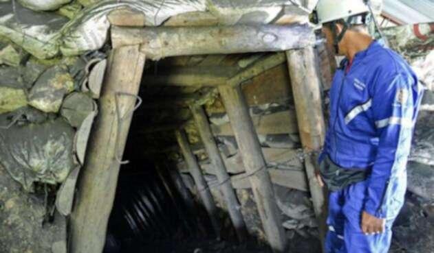 Imagen referencial sobre minas en Antioquia