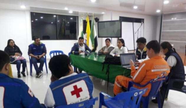 Autoridades de Mocoa analizan situación de emergencia