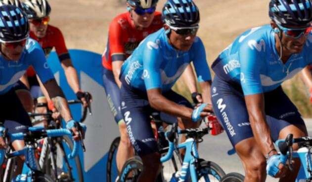 Nairo Quintana en la Vuelta a España 2018