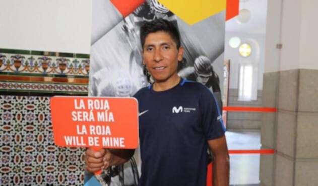 Nairo Quintana, líder del Movistar Team