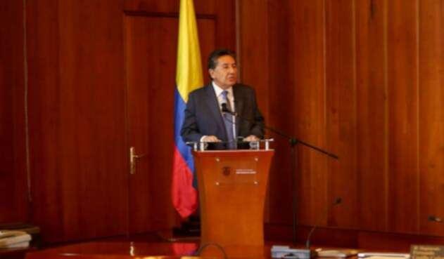 El fiscal Néstor Humberto Martínez reveló que trataron de 'chuzarlo'