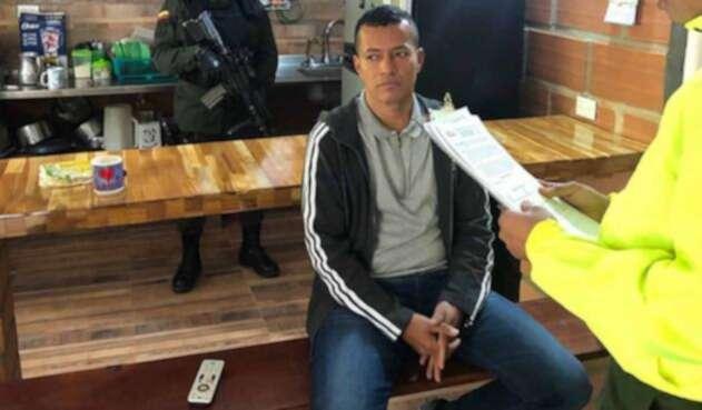 Alias Nicolás fue capturado en zona rural de municipio de San Rafael