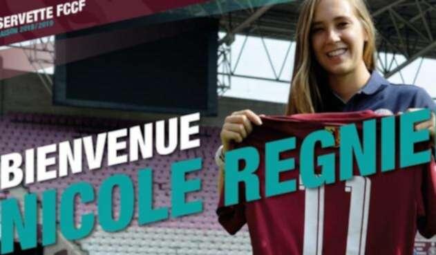 Nicole Regnier será la nueva jugadora del Servette FC de Suiza