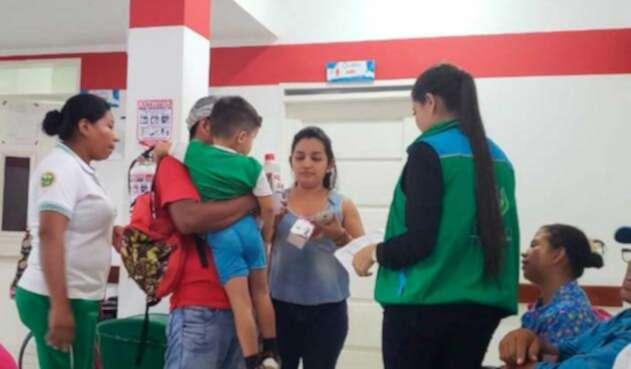 Niños intoxicados en hogares comunitarios en San Andrés de Sotavento