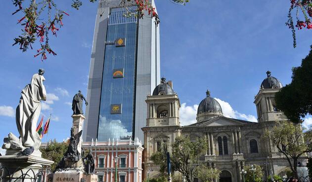 Edificio de gobierno de Bolivia