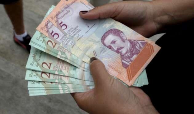 Los nuevos bolívares en Venezuela