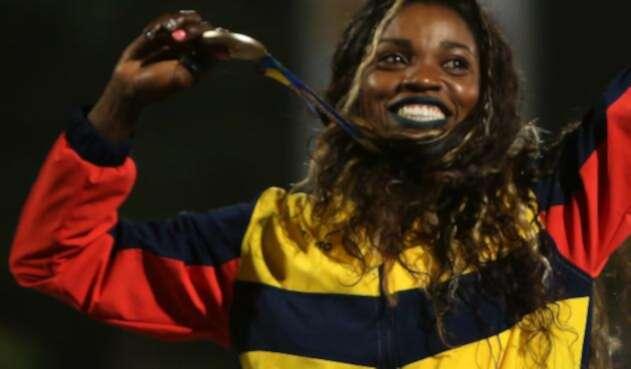 Caterine Ibargüen superó su propio récord en Barranquilla