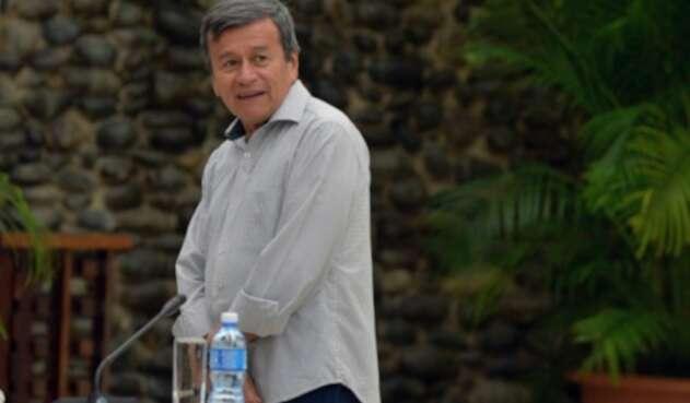Pablo Beltrán, negociador del paz del ELN