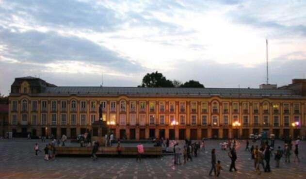 Palacio del Liévano desde la Plaza de Bolívar
