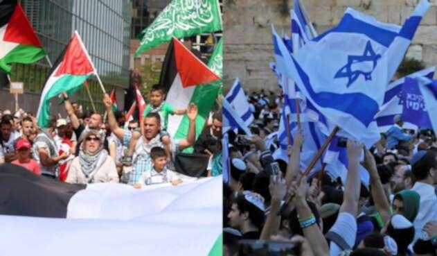 Conflicto Palestina e Israel