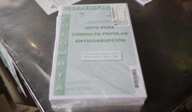 Paquete de la consulta anticorrupción