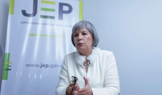 Patricia Linares, presidenta de la Jurisdicción Especial para la Paz.