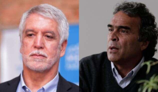 Enrique Peñalosa, alcalde de Bogotá y Sergio Fajardo, excandidato presidencial