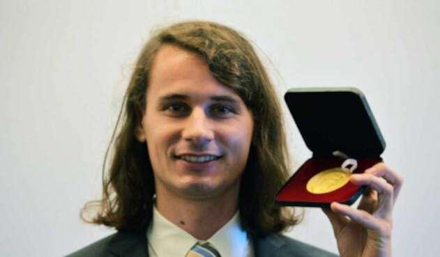 PeterScholze, matemático alemán ganador de la Medalla Fields