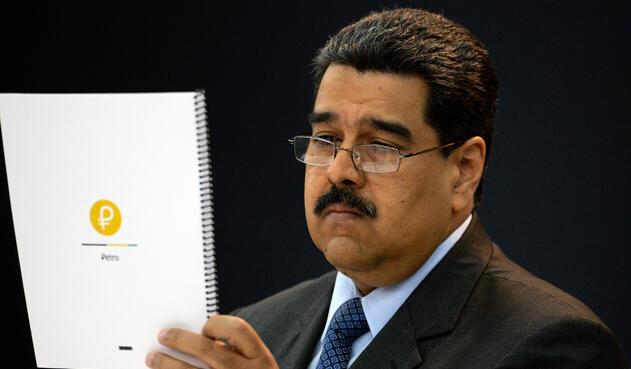 Nicolás Maduro, presidente de Venezuela, molesto con Luis Almagro