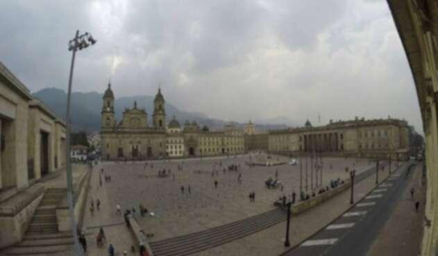 La Plaza de Bolívar de Bogotá