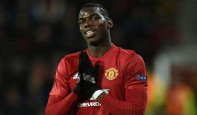 Pogba, jugador del Manchester United, en conflictos con José Mourinho