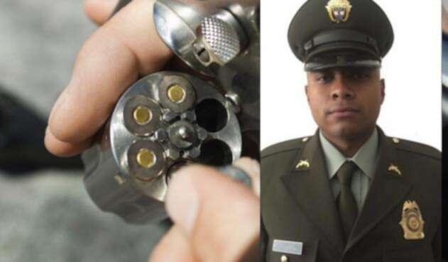 El patrullero Breyner Camilo Monroy, asesinado en Caucasia