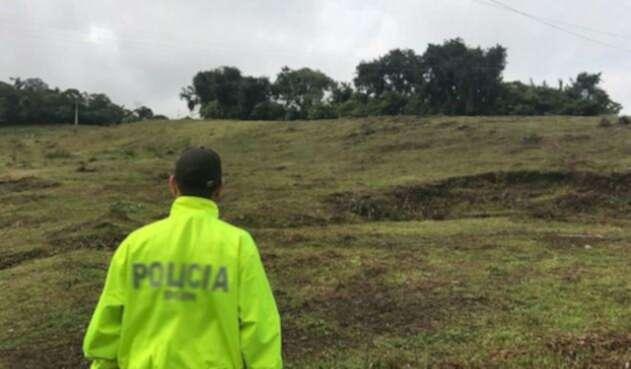 El uniformado fallecido era oriundo de Medellín