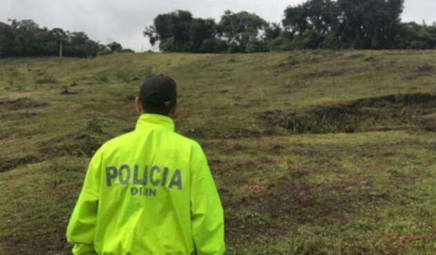 Consternación sigue generando el secuestro y homicidio del patrullero oriundo de Chinchiná (Caldas)
