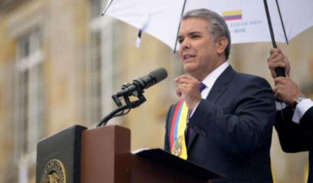Iván Duque, en contra del narcotráfico y el secuestro como delito conexo al político