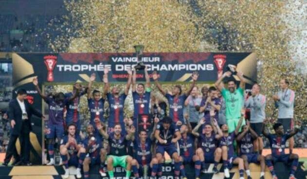 PSG, campeón de la Supercopa