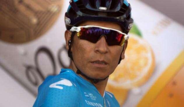 Nairo Quintana, ciclista del Movistar Team