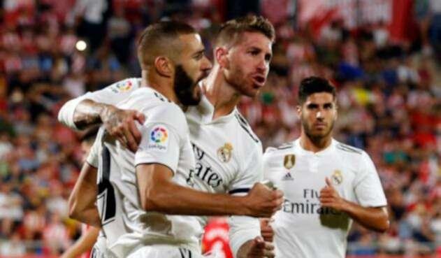 Real Madrid venció a Girona en LaLiga