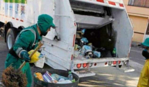 Recolección basura en Bogotá
