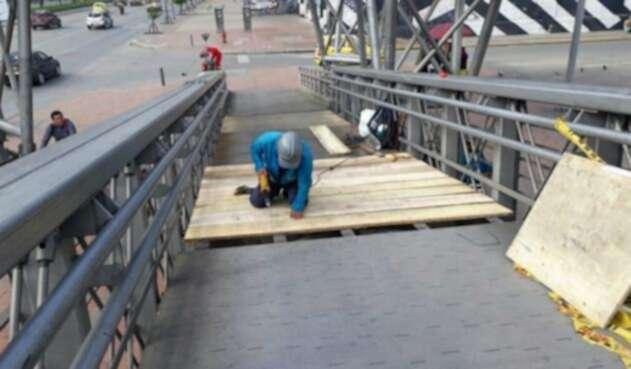 Reparación de puentes peatonales